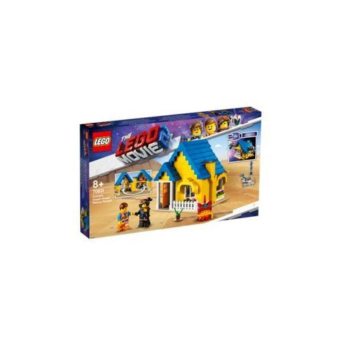 Klocki dla dzieci, Lego THE MOVIE Dom emmeta/rakieta ratunkowa emmet's dream house/rescue rocket 2 70831