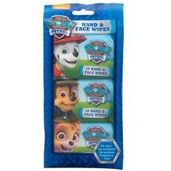 Nickelodeon Paw Patrol Hand & Face Wipes chusteczki oczyszczające 30 szt dla dzieci
