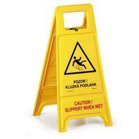 Oznakowanie informacyjne i ostrzegawcze, Stojak ostrzegawczy - Uwaga! Śliska podłoga CZ