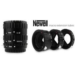 NEWELL Pierścienie pośrednie makro z automatyką - Canon EOS plastikowe