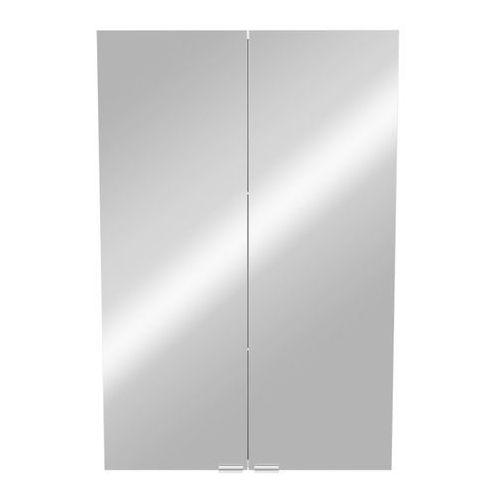 Szafki łazienkowe, Szafka z lustrem GoodHome Imandra 60 x 90 x 36 cm szara