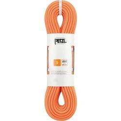 Petzl Volta Guide Rope 9,0mm x 50m, pomarańczowy 2021 Liny połówkowe