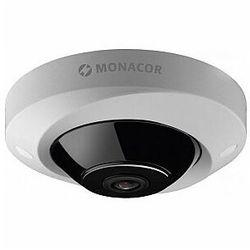 MONACOR INC-5360DF PROJECT Line: Kolorowa kamera sieciowa typu rybie oko 360, 5 megapikseli