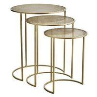 Stoliki i ławy, Madam Stoltz - Zestaw trzech stolików