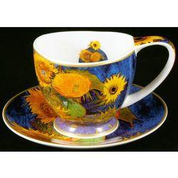 Filiżanka ze spodkiem Van Gogh - 6 Słoneczników