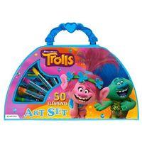 Kreatywne dla dzieci, Zestaw artystyczny STARPAK Trolls (50 elementów)