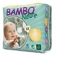 Pieluchy jednorazowe, BAMBO Nature Midi (5-9kg) 33 szt. - pieluszki jednorazowe