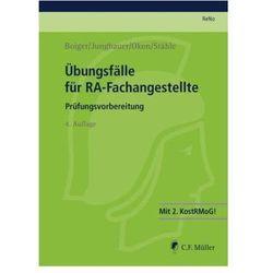 Übungsfälle für RA-Fachangestellte Boiger, Wolfgang