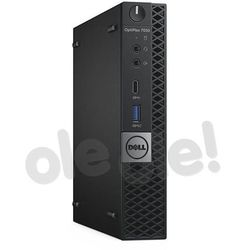 Zestaw komputerowy Dell OptiPlex 7050 MFF (N004O7050MFF02) Darmowy odbiór w 21 miastach!