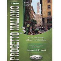 Książki do nauki języka, Nuovo Progetto Italiano 3 Quaderno Degli Esercizi (opr. miękka)