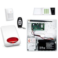 Bezprzewodowy System alarmowy SATEL MICRA +1 PIR + PILOT + MANIPULATOR + SYGNALIZATOR