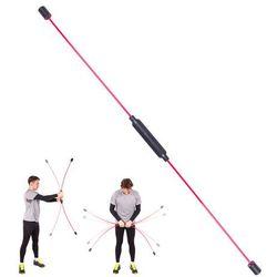 Drążek drgający do ćwiczeń i aerobiku inSPORTline Flexi Bar Strong