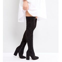 ASOS KATCHER TALL Heeled Over The Knee Boots - Black