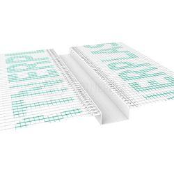 Listwa do boniowania z siatką 30x20 mm H=3cm, L=3mb pakiet 20szt.