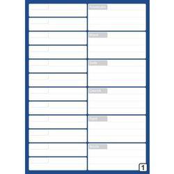 Planer spotkań suchościeralny z kalendarzem tygodniowym 265