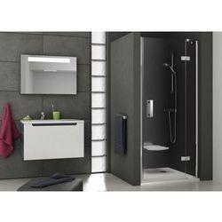 Ravak SmartLine drzwi prysznicowe SMSD2-110a, prawe, Chrom+Transparent 190 cm 0SPDAA00Z1