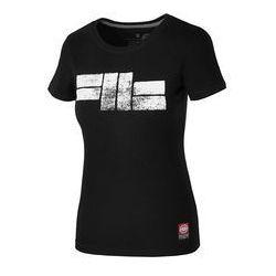 Koszulka damska Pit Bull Classic Logo - Czarna (217057.9000)