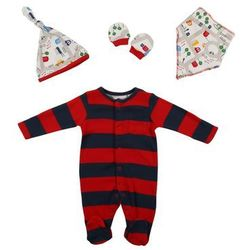 mothercare BOYS LITTLE CITY GIFT SET Chusta darks multi