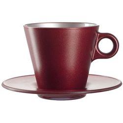 Filiżanka do Cappuccino Ooh Magico Leonardo czerwony metalik (063874)