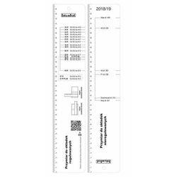 Okładka samoprzylepna S4 średnia 25 sztuk - biurfol