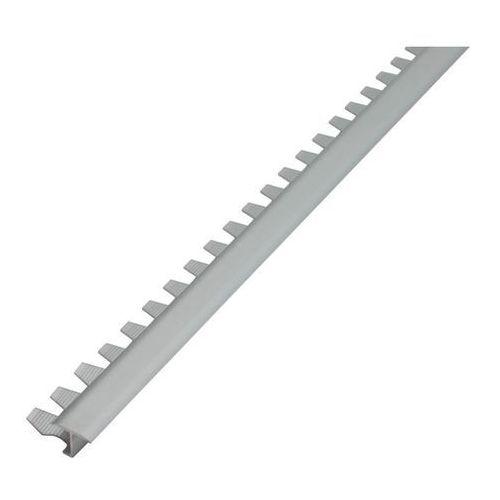 Akcesoria do płytek, Profil aluminiowy dylatacyjny Diall do łuków srebrny mat 2,5 m