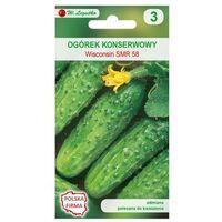 Nasiona, Ogórek gruntowy WISCONSIN SMR 58 nasiona tradycyjne 5 g W. LEGUTKO