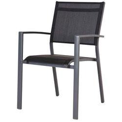 Fotel z podłokietnikami Blooma Batz czarny