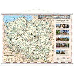 Polska niezwykła mapa ścienna dla dzieci
