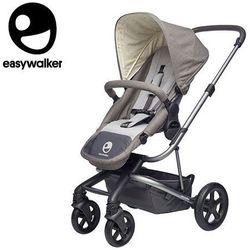 Easywalker Harvey Wózek głęboko-spacerowy Steel Grey (zawiera stelaż, siedzisko z budką i pałąkiem) - Easywalker