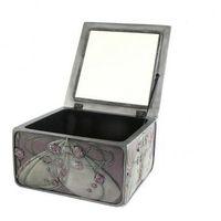 Szkatułki i puzderka, Secesyjne pudełko szkatułka na biżuterię RÓŻA VERONESE WU73210A7