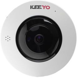 Kamera FISHEYE sieciowa IP bezprzewodowa KEEYO LV-IP4M2FE 4Mpx IR 25m 180 stopni Fisheye