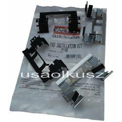 Zestaw montażowy przednich klocków Chevrolet TrailBlazer 2006-2009