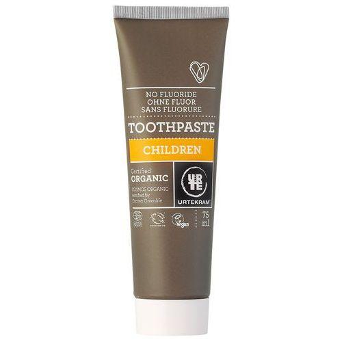 Pasty do zębów, Pasta do zębów dla dzieci EKO 75 ml - URTEKRAM