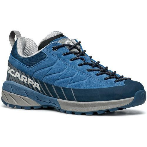 Trekking, Scarpa Mescalito Lace Shoes Kids, jeans/gray EU 28 2021 Buty turystyczne