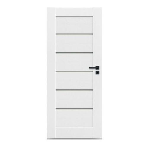 Drzwi wewnętrzne, Drzwi pokojowe Toreno 90 lewe kredowo-białe