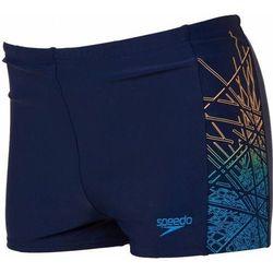 Kąpielówki Speedo Logo PNL Asht Jm niebieskie
