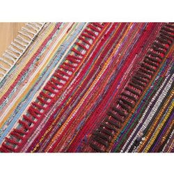 Dywan kolorowy 80x150 cm krótkowłosy - chodnik - bawełna - DANCA