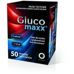 Glucomaxx Paski testowe do pomiaru glukozy 50 szt. 50 szt.   SZYBKA WYSYŁKA!