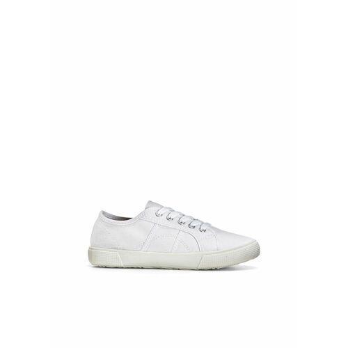 Damskie obuwie sportowe, Sneakersy bonprix biały