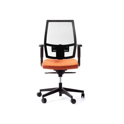 Fotele i krzesła biurowe, Fotel Foxtrot Net D7 antracyt