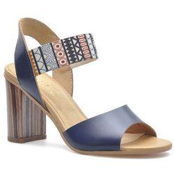 Sandały Ryłko 9HH81T4_SI8F Granatowe lico