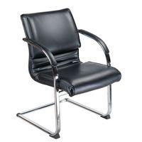 Fotele i krzesła biurowe, Fotel konferencyjny CorpoComfort BX-3339B Czarny