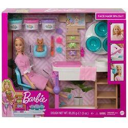 Barbie salon spa maseczka na twarz zestaw