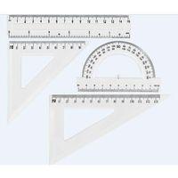 Pozostałe artykuły szkolne, Zestaw geometryczny transparent GR-031T GRAND