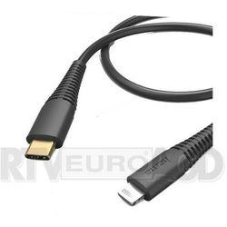 Hama USB-C Lightning 1.5m (czarny)