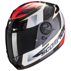 SCORPION KASK INTEGRALNY EXO-490 TOUR WHITE-RED