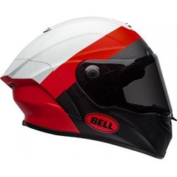 BELL KASK INTEGRALNY RACE STAR SURGE WHITE/RED