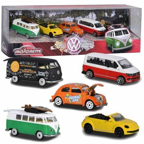 Osobowe dla dzieci, Majorette Volkswagen 5-pak