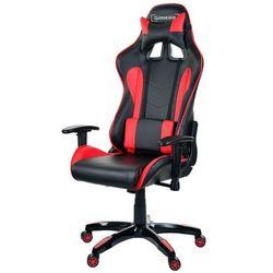 Fotel biurowy GIOSEDIO czarno-czerwony,model GSA041