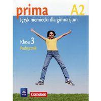 Książki do nauki języka, prima A2. Język niemiecki dla gimnazjum. Klasa 3. Podręcznik. 135/3/2009 - książka (opr. broszurowa)